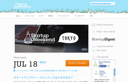 Startup Weekend Tokyo 2014@Softbankで優勝しました(3日目発表編)