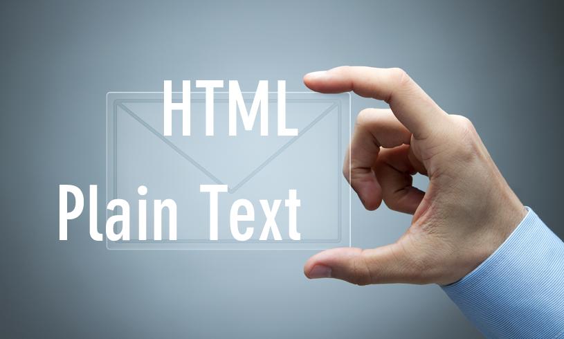 HTMLメールとテキストメールの違いを理解して、マーケティングや営業活動に活かす方法