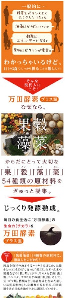 万田発酵 公式オンラインショップ画面