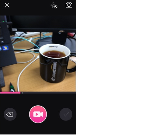 meipaiのアプリ画面