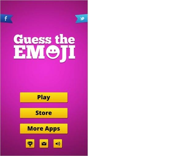 Guess The Emojiのアプリ画面1