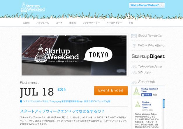 Startup Weekend Tokyo画像_0